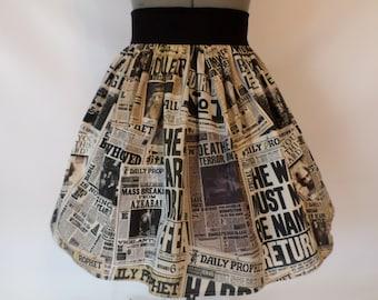 Magical Newspaper Skirt