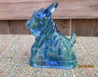 Old Boyd Glass JB Scottie Dog