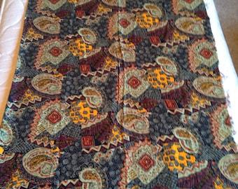 Vintage Fabric Remnant!