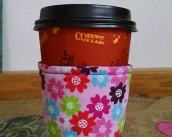 Polka Dot Coffee Sleeve