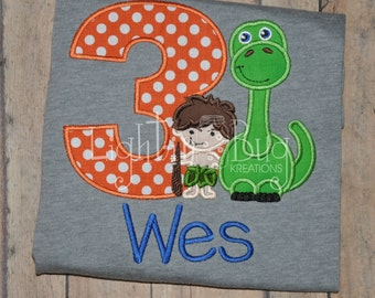 Nice Dinosaur Birthday Shirt