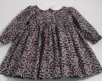 """Liberty """"Ffion"""" Frilly Baby Dress"""