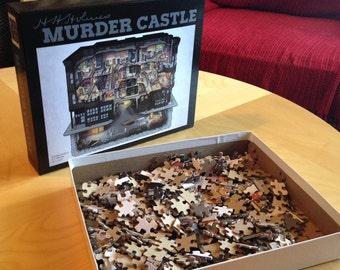 H. H. Holmes Murder Castle Jigsaw Puzzle