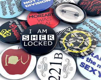 Full 12 pin Detective Button Set