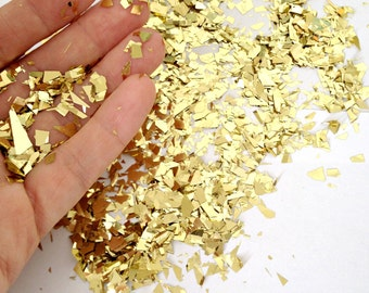Metallic Geometric Sparkle Confetti PICK YOUR COLOR - Wedding - Party - Baby Shower - Send Off