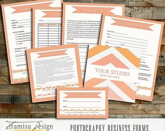 SALE Photography Business Forms - Contract, Model Release,Print Release, sku 6-4