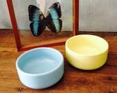 Pastel bowls