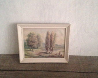 Landscape painting reproduction