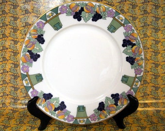 Art Deco Plate, Hutschenreuther Selb, Bavaria Germany