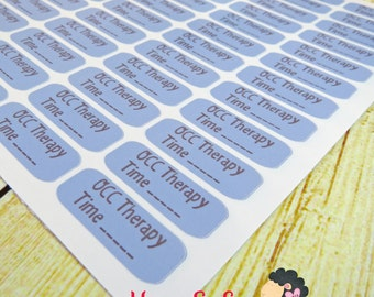 OCC Therapy Planner Sticker - Size Customize-able