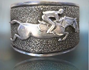 Jumper Horse cuff bracelet