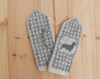 Knitted dachshund Etsy
