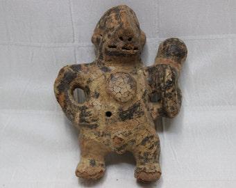 Vintage Central American Clay Figurine