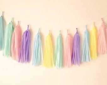 pastel colour mix garland wedding birthday baby shower christening  party decoration back drop