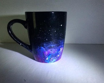Hand Painted Galaxy Mug