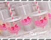 Princess Birthday Party Supplies-Kids Party Cups-Tutu Party Favor Cups-Souvenir Cup