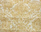 PREMIER PRINTS FABRIC, Shiloh Macon Saffron Yellow, Home Decor Fabric by the Yard, cotton fabric