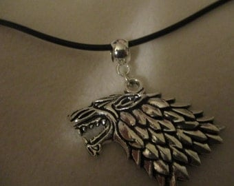 GOT inspired 'The North Remembers' Charm necklace
