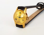 Vintage Women's Watch SLAVA Small Retro Wrist watch 70s