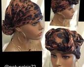 Oversized Satin Bonnet Scarf -Wrap-One Size Fits All-charmeuse satin