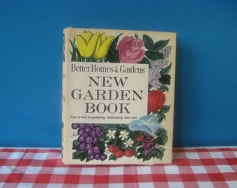 Better Homes & Gardens Garden Book - Gardening Book - Loose Leaf Binder - Revised Edition - Vintage 1961