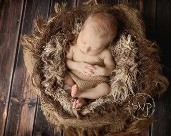 Photography Props Newborns Baby Photo Prop Basket Stuffer Layering Set Beige Brown Baby First Photo Prop Newborn Photography Prop