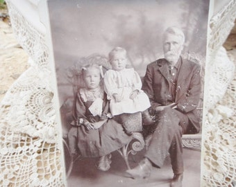 Indian Territory Antique Photograph family