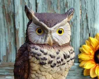 Andrea Sadek Great Horned Owl Figurine NR 9339 Made In Japan