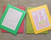 Baby Girl Greeting Cards (Set of 2)