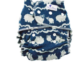 One size wool diaper, washable wool diaper cover, wool diaper wrap, one size wool wrap, wool interlock diaper cover