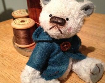 Finn - One of a Kind Miniature Artist Bear