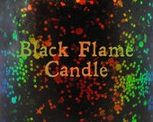 "Black Flame Candle chameleon glitter and flake nail polish 15 mL (.5 oz) from the ""Just a Bunch of Hocus Pocus"" Collection"