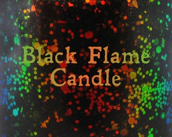 """Black Flame Candle chameleon glitter and flake nail polish 15 mL (.5 oz) from the """"Just a Bunch of Hocus Pocus"""" Collection"""