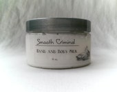Smooth Criminal Hand and Body Silk with Sunflower Oil, Shea Butter, Silk Proteins, Aloe Vera, Paraben Free Lotion