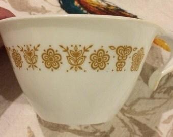 Vintage Corelle Tea Cups