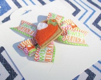 Sweet as Pumpkin Pie  Bow