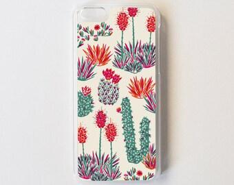 iPhone 5c Case - Cactus iPhone Case - Floral iPhone Case - Litoral Central - Flor de Chile Special Collection