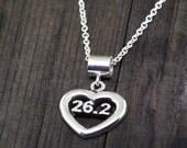 Marathon Necklace, Running Jewelry, Marathon Jewelry, Boston Jewelry, Running Necklace, Running Charms, Swim Ride Run, Runner Jewelry, Ultra