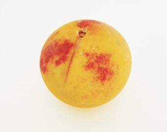 Vintage Italian Marble Stone Fruit, Georgia Peach