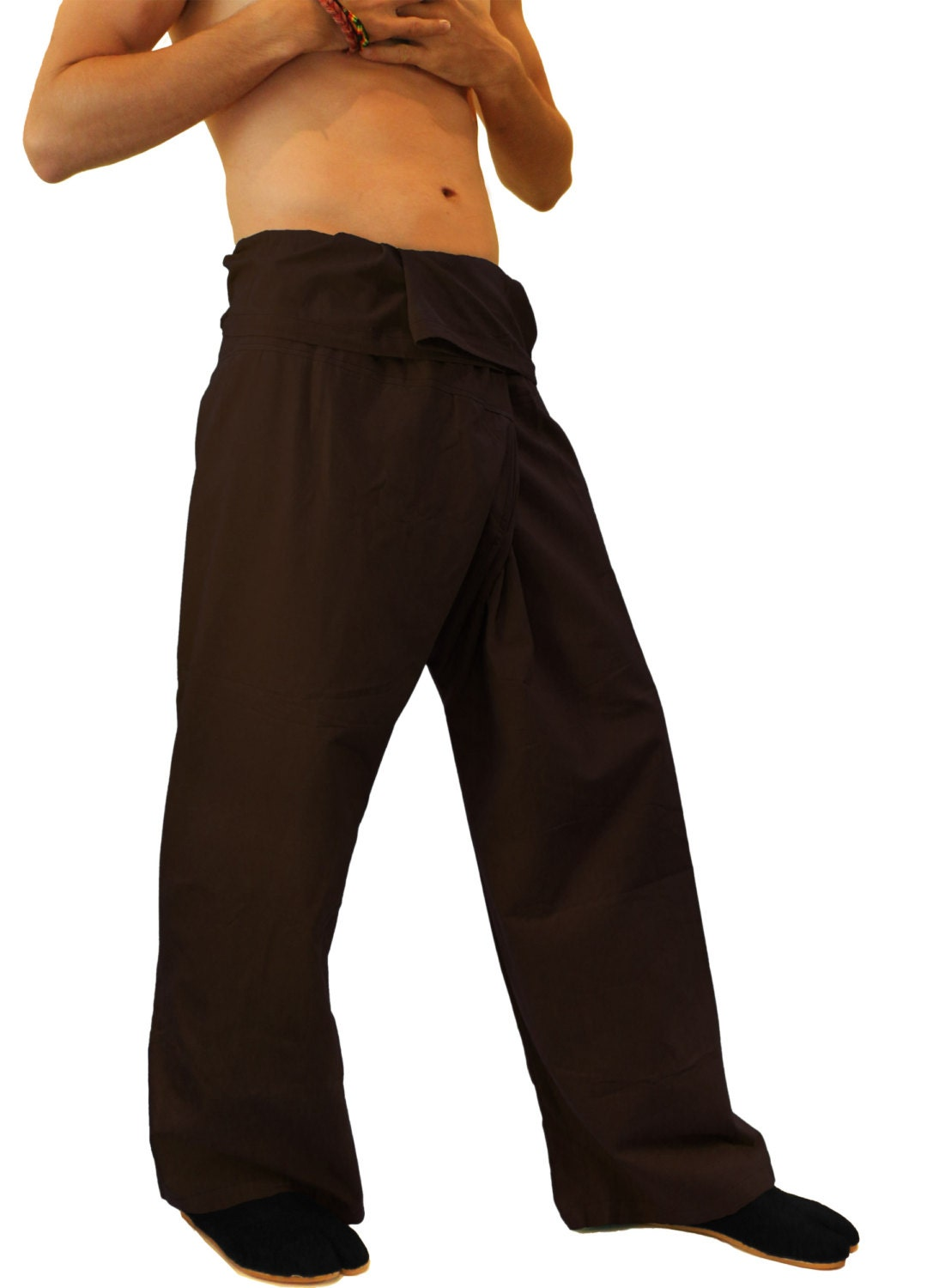 how to wear thau fisherman pants