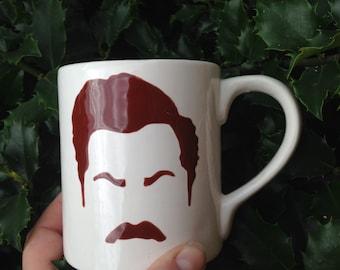 Ron Swanson inspired mug