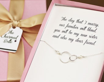 Wedding Gift From Brother To Groom : Mother of the groom from Groom grooms mom Circle Necklace