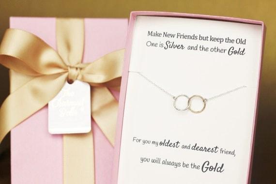 ... Gift, Wedding, Bridesmaid gift, long distance friendship, best friend