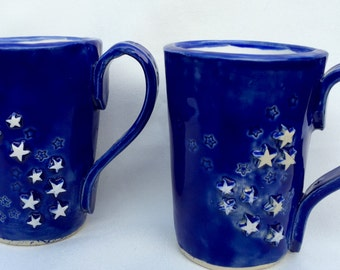 Couples coffee mugs, Ceramic Mugs, Yours and Mine, Wedding Gift, Anniversary Gift, Free Shipping