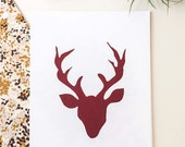 "Hello, Bear ""Buck Forest"" Print"