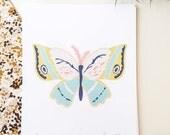 "Winged ""Wingspan I"" Print"