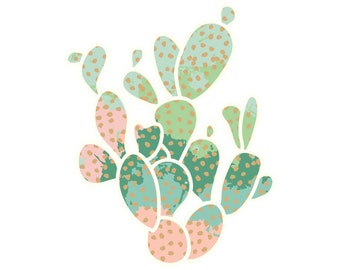 "Succulence ""Everlasting Cacti"" Print"