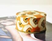 Antique Unopened French Face Powder - Poudre Parfumee Rachel Fonce A L'Origan De Coty - Sealed Antique Powder Box