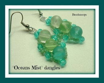 Ocean Mist earring collection...dangles and post