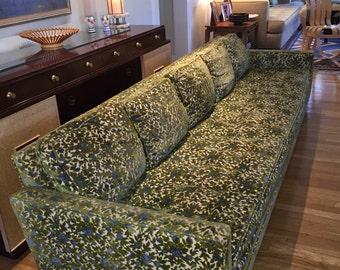 Fun and Fancy Nine-Foot Sofa